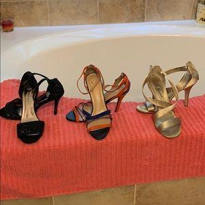 Shoes - Various designer heels